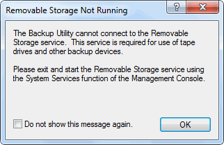 Windows 7 Ntbackup